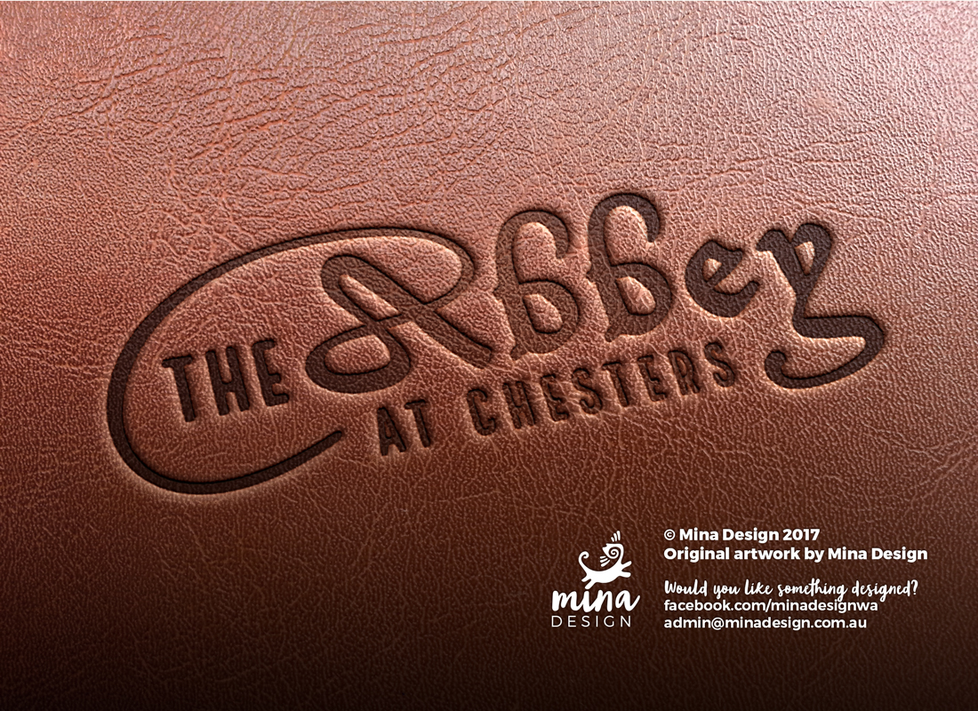 The Abbey at Chesters: Identity Design/Logo Design by Mina Design